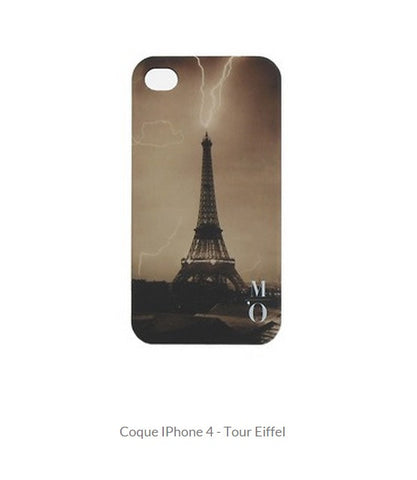 Coque IPhone 4 - Tour Eiffel