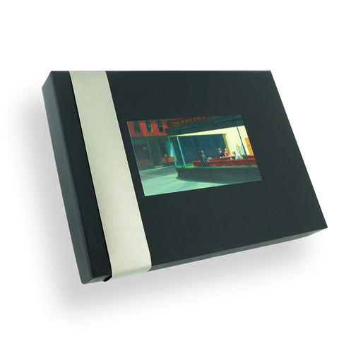 Coffret de 12 cartes doubles - Edward Hopper