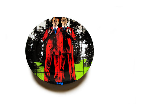 Assiette de collection Gilbert&George