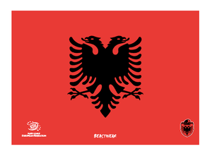 Towel - Albania Rugby League (Design 1)