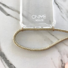 Load image into Gallery viewer, METALLIC GOLD phone necklace