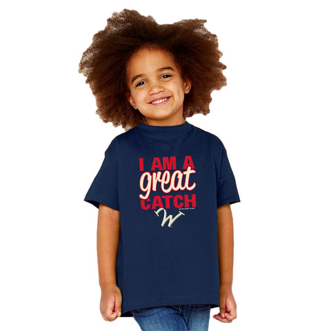 Williamsport Crosscutters Toddler Great Catch Tshirt