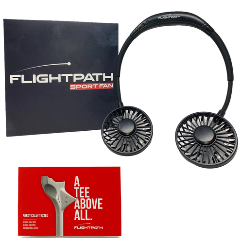 FlightPath Golf Tees + Sport Fan
