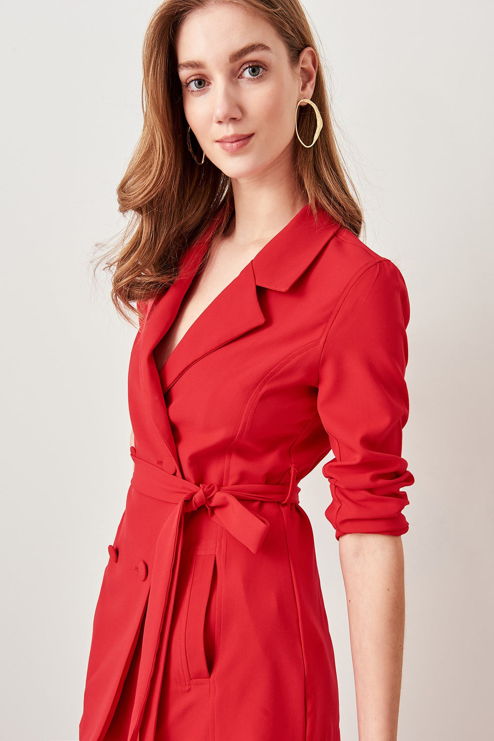 Advanced Linking Red Jacket - Top Maxy
