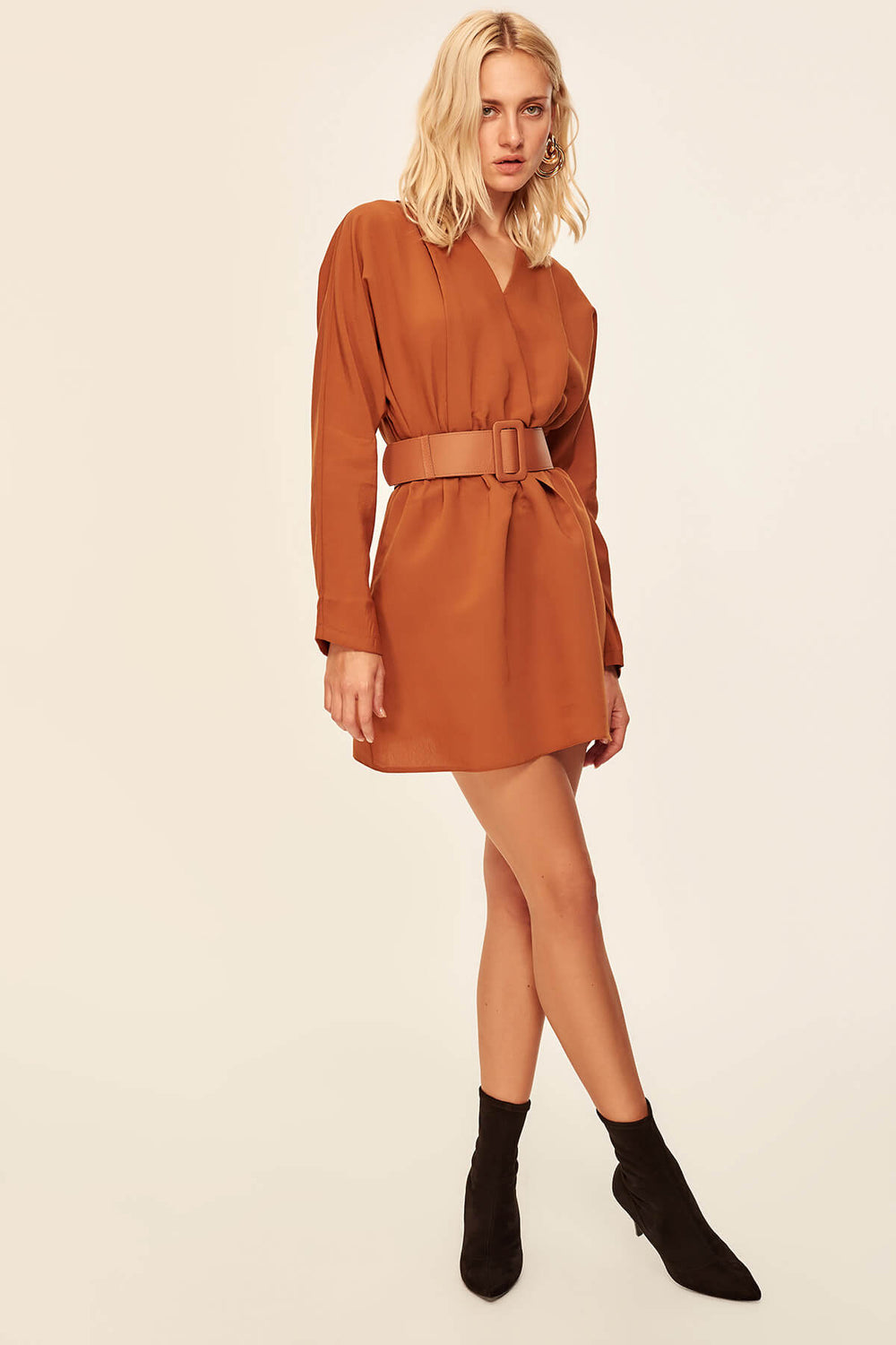 Arched Cinnamon Dress - Top Maxy