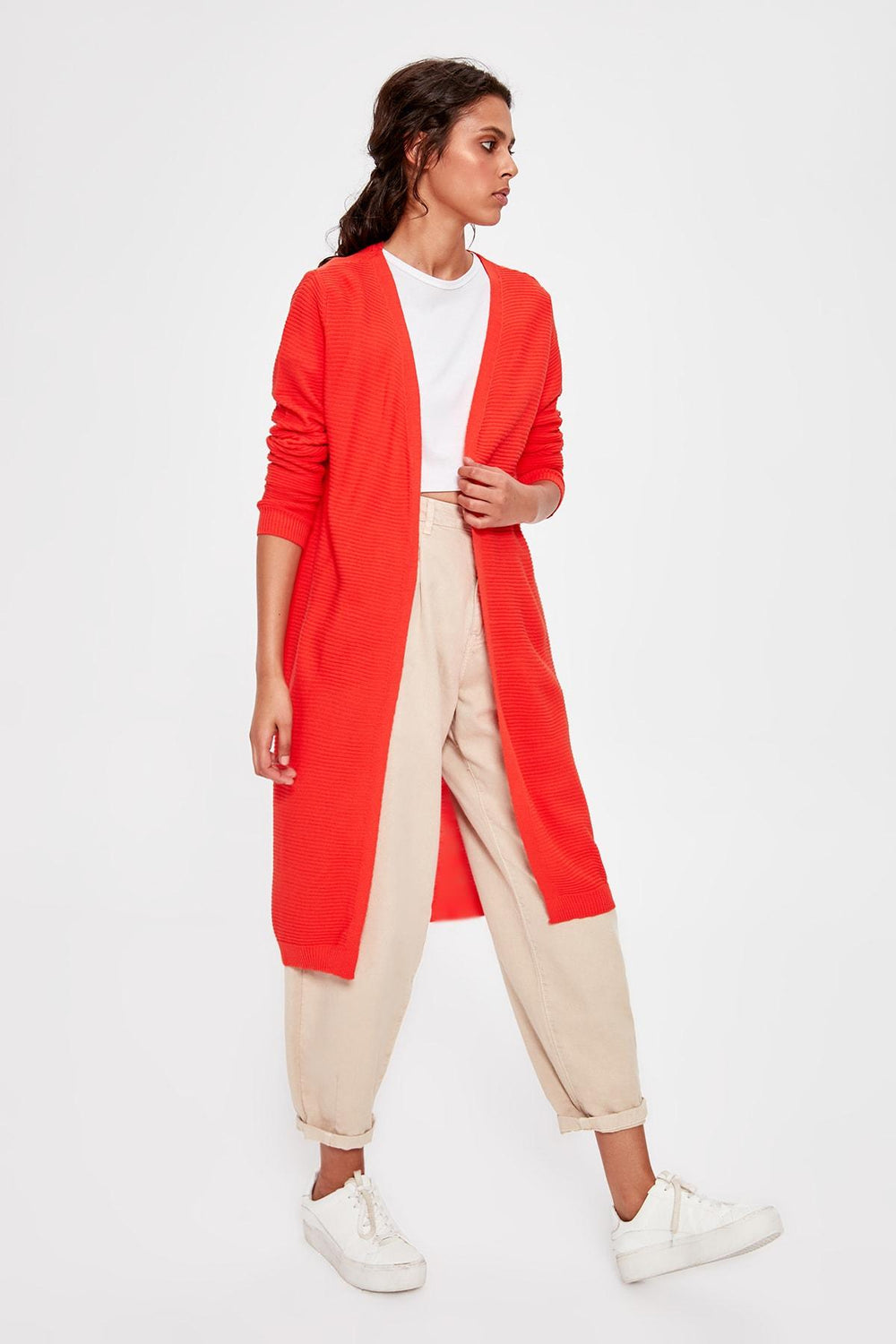 Coral Sweater Cardigan - Top Maxy