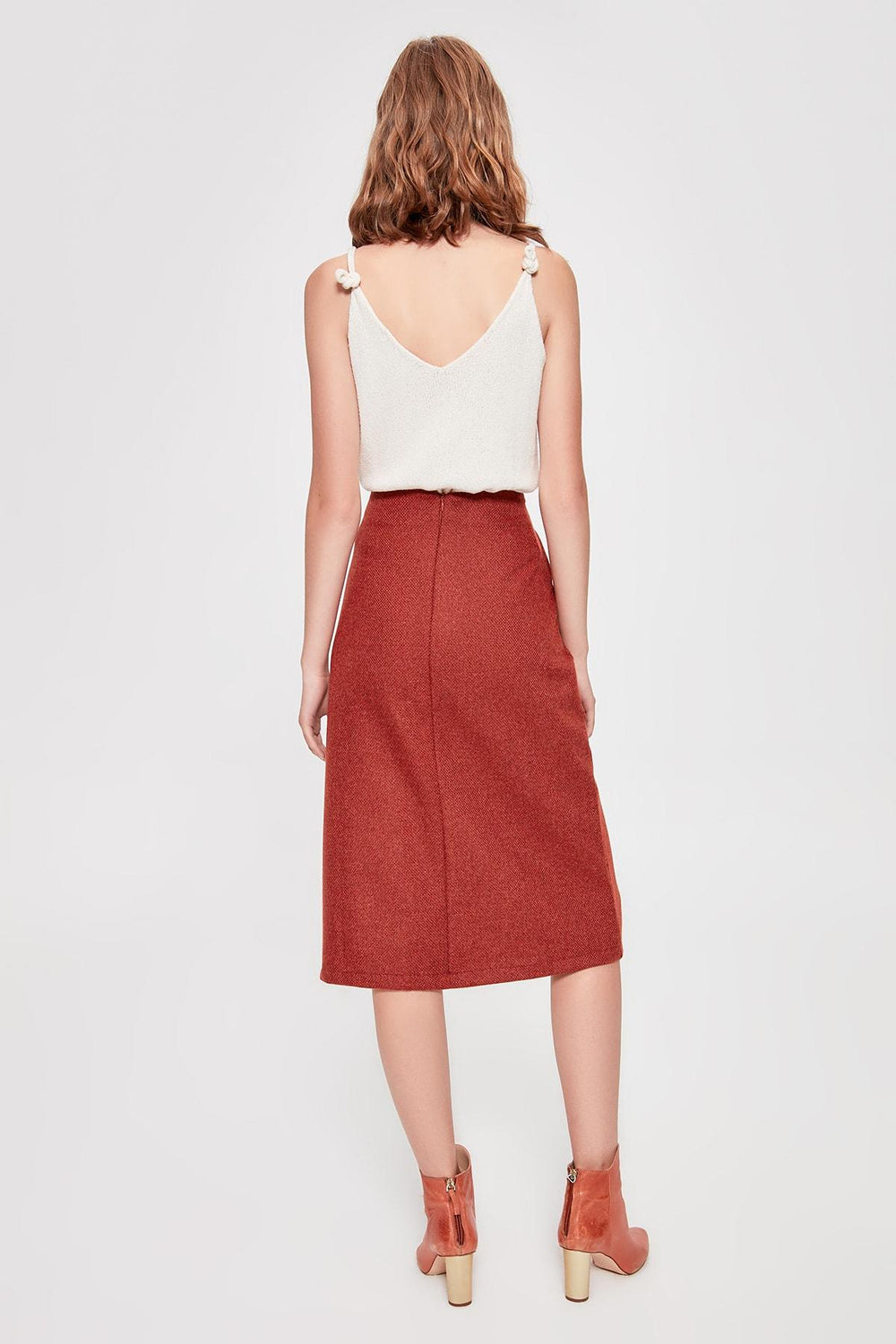 Tile Midi Skirt - Top Maxy