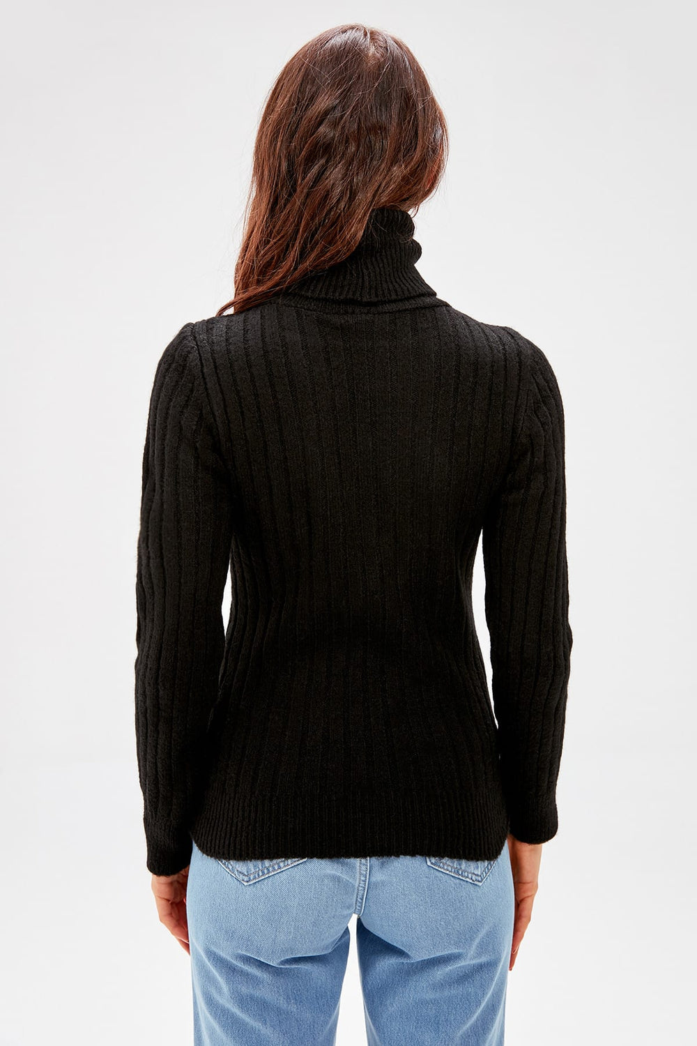 Black Turtleneck - Top Maxy