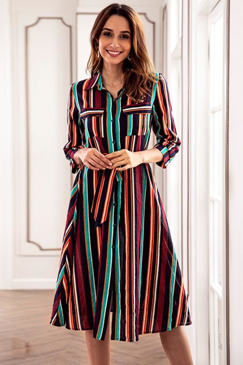 Elegant Party Casual Retro Midi Dresses - Top Maxy