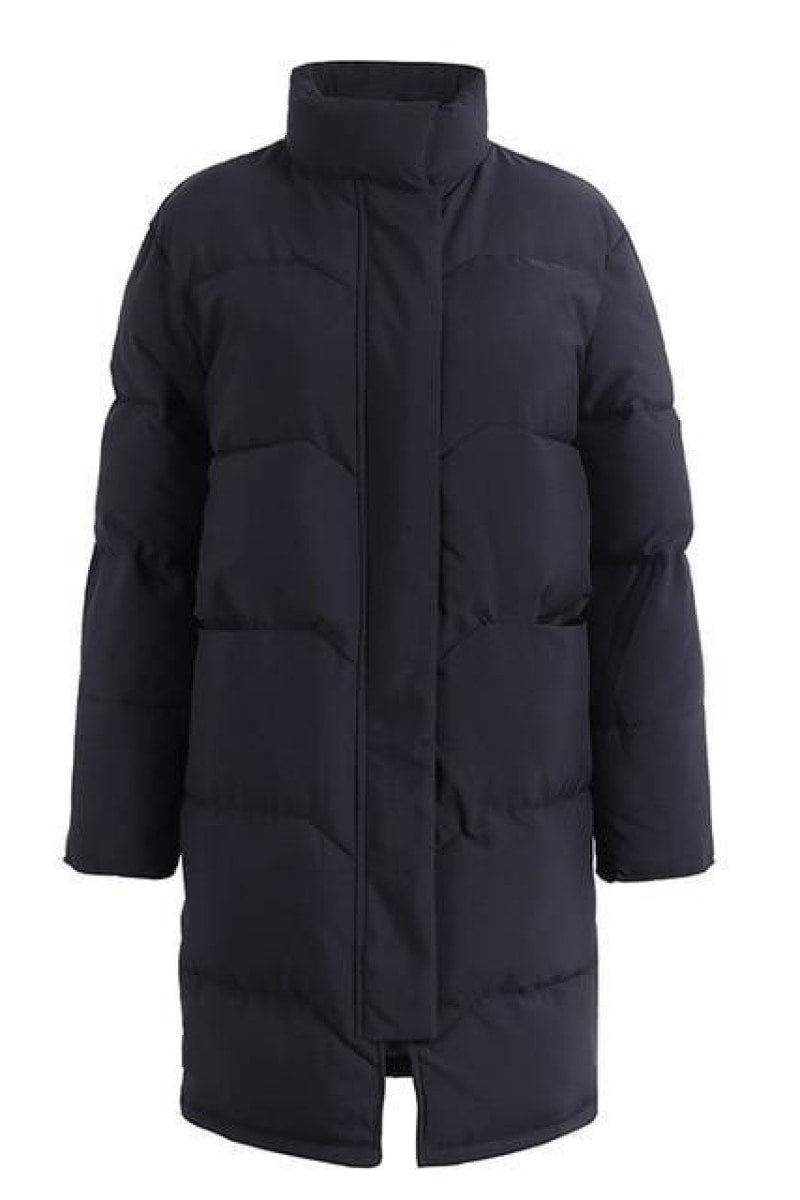 Cotton padded warm parka jacket - Top Maxy