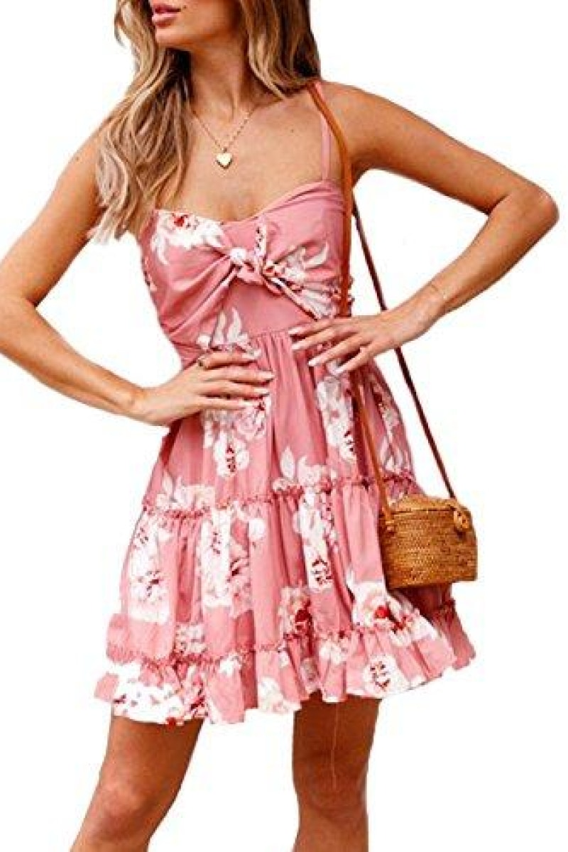Spaghetti Strap Sweet Summer Dress - Top Maxy