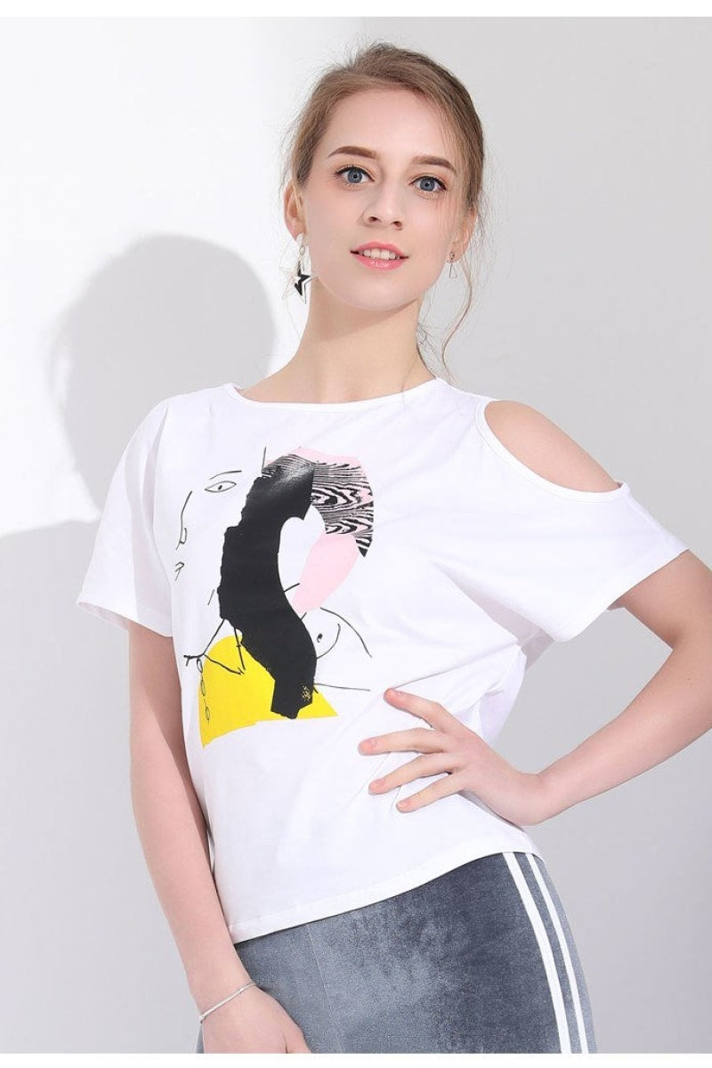 Funny Casual T Shirt - Top Maxy