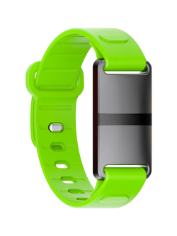 Black Case with Green Sport Strap