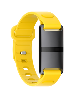 Black Case with Yellow Sport Strap