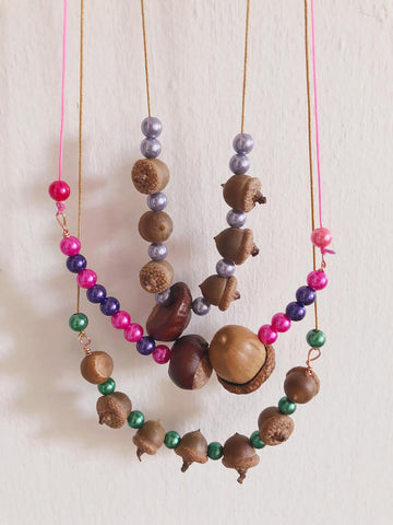 Acorn necklaces