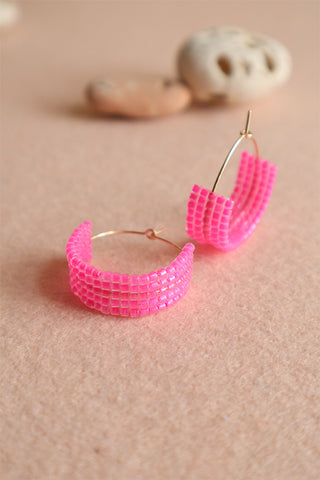 Hot Mama Hoops: Fuchsia