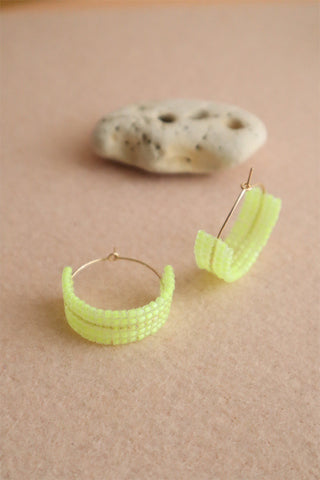 Hot Mama Hoops: Neon Yellow