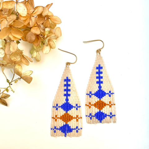 Royal Fall Fringe Earrings