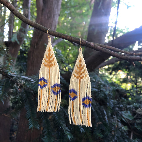 Goldenrod + Aster Dark - Earrings