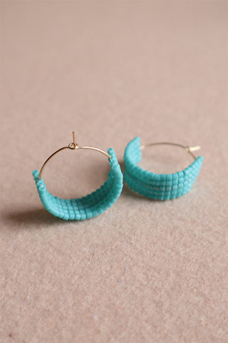 Hot Mama Hoops: Turquoise