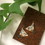 One of a kind hand made bohemian earrings by snails and fairydust