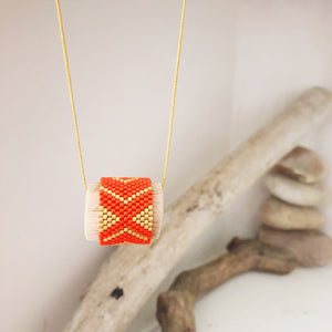 Maple | Mantra Necklace
