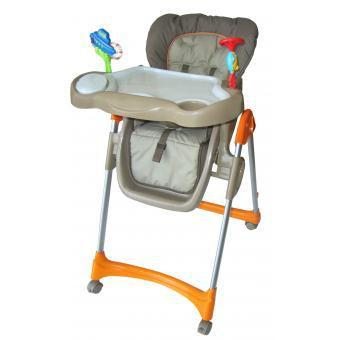 silla comedor ebaby time lunch csc609 naranja