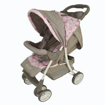 Coche paseador pink Butterfly 160 Rosa