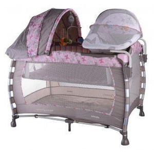 Corral cuna Ebaby pink butterfly Ccp778
