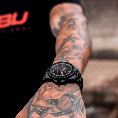 ALB - FUBU Watch Swiss Made Movement, Sapphire Crystal, Quick Release System, 10ATM water resistance. 24 Month Warranty. Lifestyle Affordable Timepieces