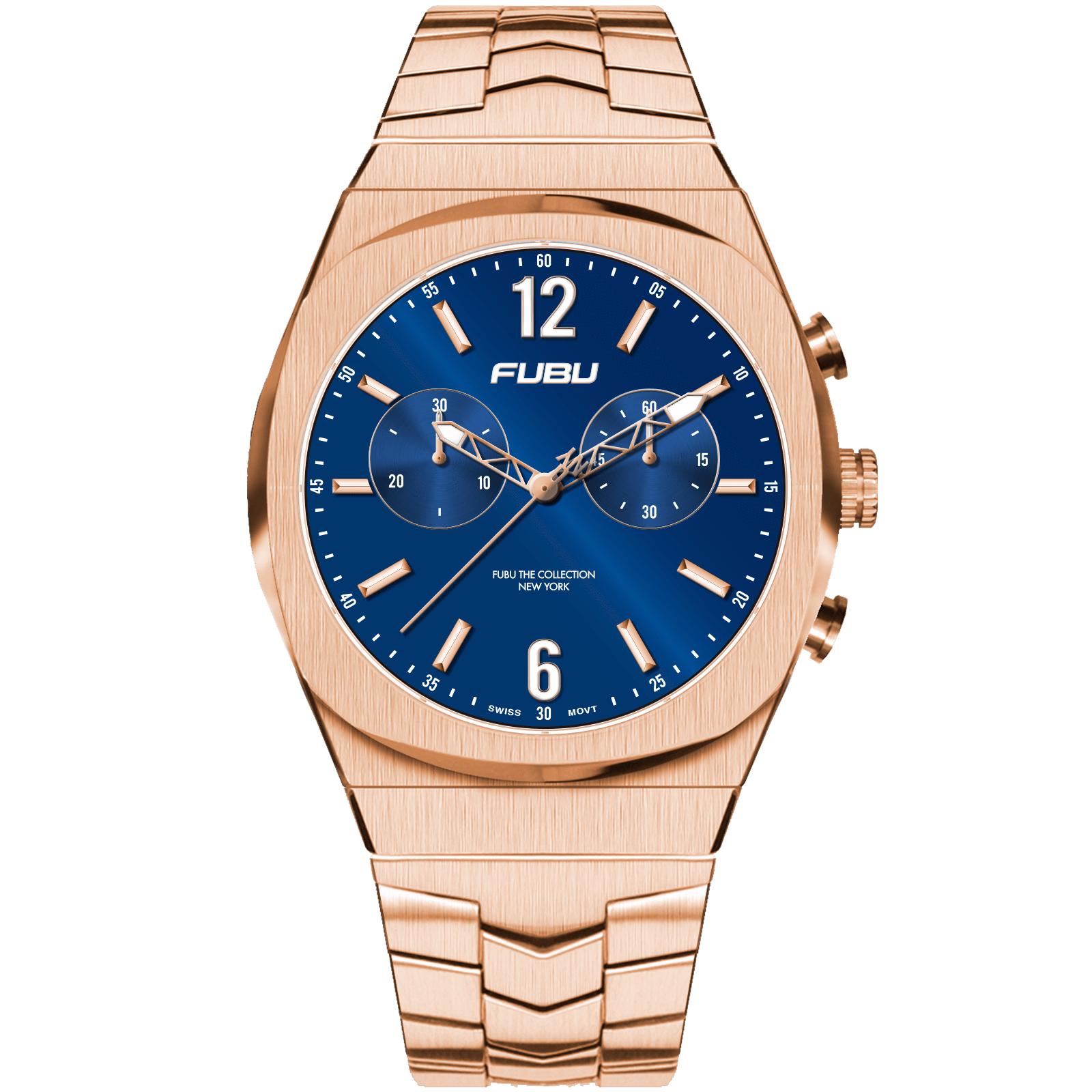FUBU Watch Empire State Chrono