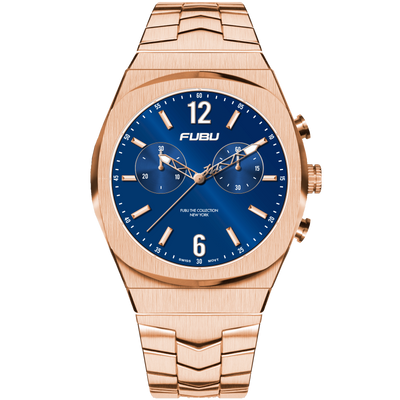 Empire State Snyder - FUBU Watch Swiss Made Movement, Sapphire Crystal, Quick Release System, 10ATM water resistance. 24 Month Warranty. Lifestyle Affordable Timepieces