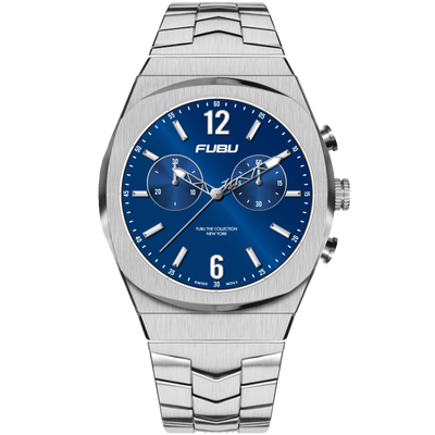 Empire State Trenton - FUBU Watch Swiss Made Movement, Sapphire Crystal, Quick Release System, 10ATM water resistance. 24 Month Warranty. Lifestyle Affordable Timepieces