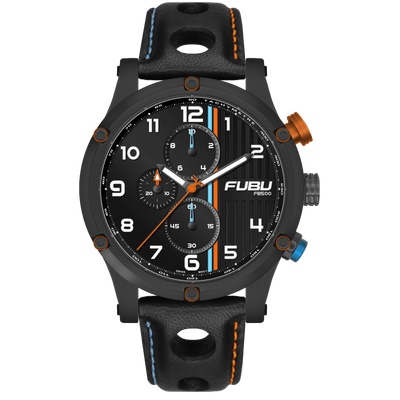 FB500 #11 - FUBU Watch Swiss Made Movement, Sapphire Crystal, Quick Release System, 10ATM water resistance. 24 Month Warranty. Lifestyle Affordable Timepieces