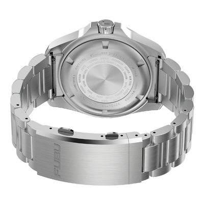 SWF - FUBU Watch Swiss Made Movement, Sapphire Crystal, Quick Release System, 10ATM water resistance. 24 Month Warranty. Lifestyle Affordable Timepieces