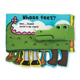 Melissa & Doug Soft Books - Whose Feet?