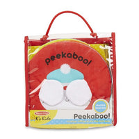 Melissa & Doug Soft Books - Peekaboo