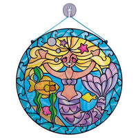 Melissa & Doug Stained Glass Mermaids