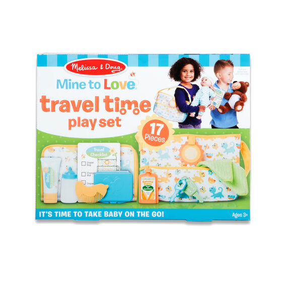 *NEW* Melissa & Doug Mine to Love Travel Time Play Set