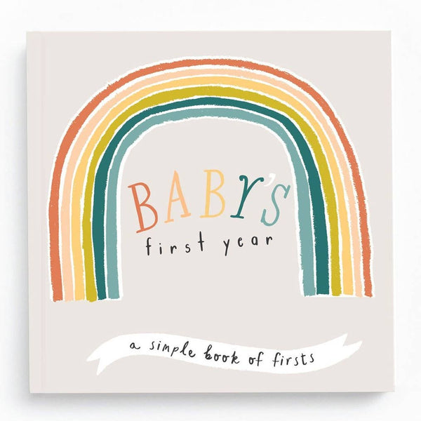 *NEW* Lucy Darling Little Rainbow Memory Book