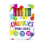 *NEW* Ooly Chunkies Classic Paint Sticks - 12 Pack