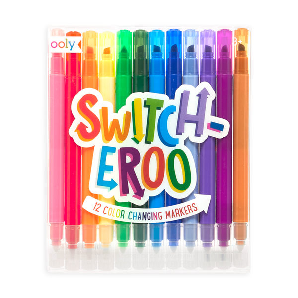*NEW* Ooly Switch-eroo Color Changing Markers