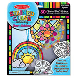 Melissa & Doug Stained Glass Ornaments - Set of 2