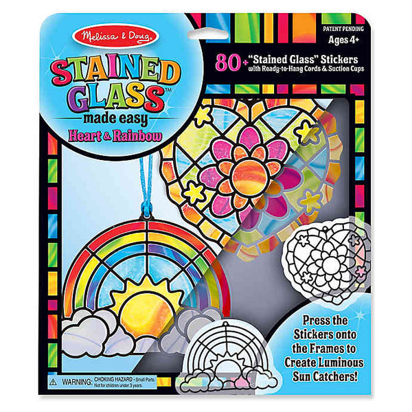 Melissa & Doug Stained Glass Sun Catchers - Set of 2