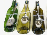 Texas UpCycle Wine Bottle Serveware
