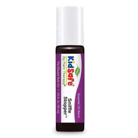 Plant Therapy Sniffle Stopper KidSafe Essential Oil Roll-On