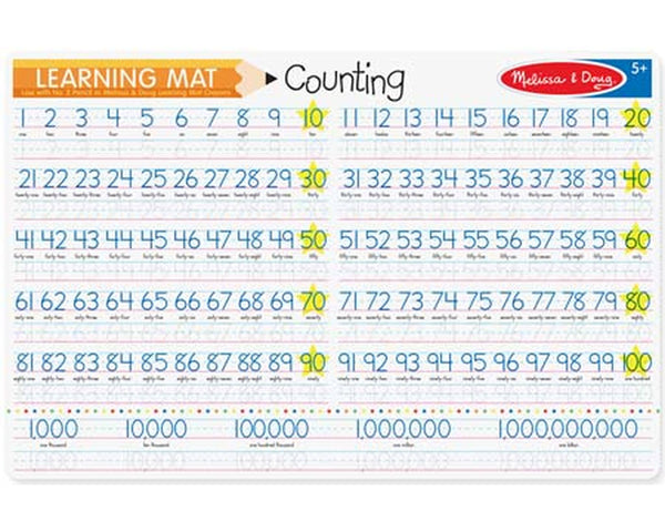 Melissa & Doug Learning Mat