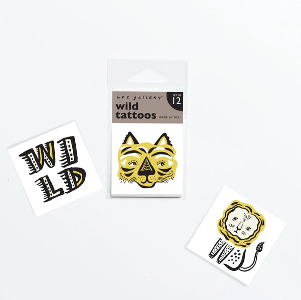 *NEW* Wee Gallery Temporary Tattoos