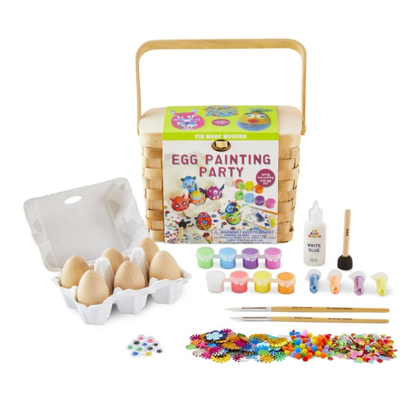 *NEW* Kid Made Modern Egg Painting Party Kit
