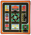 Melissa & Doug Round the City Rescue Activity Rug
